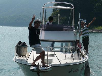 2008年9月10日(水)やっと出航出来ました!