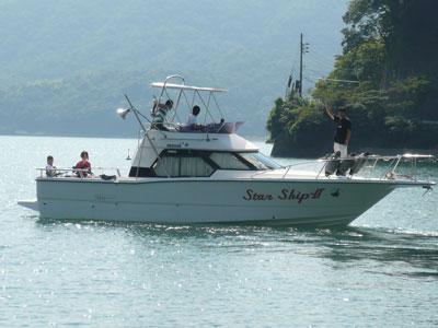 2008年9月10日(水)海に浮かぶStarShip-Ⅱを撮影する機会はめったにありません