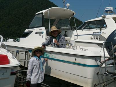 2008年9月11日(木)仲の良いご夫婦は京都の谷田様です