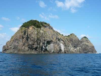 2008年10月15日(水)沓島を目の前に写真を一枚