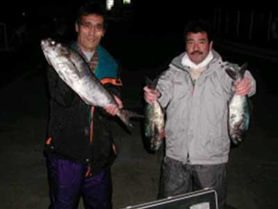 2009年1月29日(木)メダイの70cmを釣られました