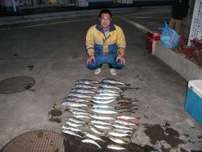 2009年1月29日(木)マリーナスタッフの釣果です
