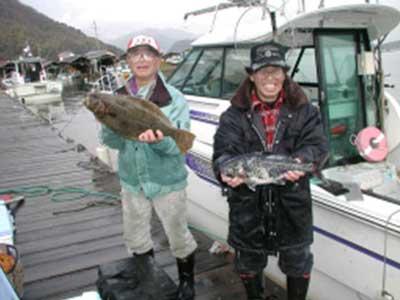 2009年2月11日(水)ヒラメとメダイを釣られました