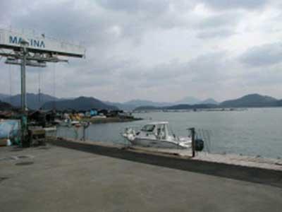 2009年2月26日(木)アオイマリーナ出航前