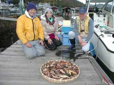 2009年2月28日(土)メバルを100匹釣られました