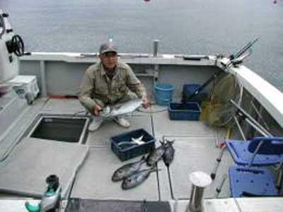 2009年3月1日(日)メダイやサバを釣られました