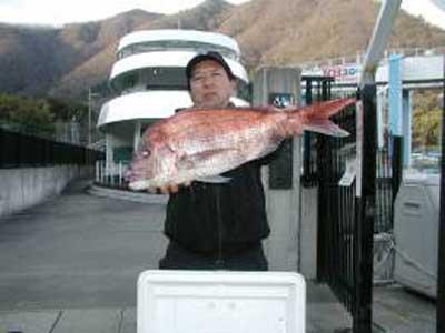 2009年3月2日(月)マダイの60cmを釣られました