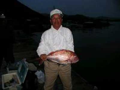 2009年5月3日(日)マダイの60cmを釣られました