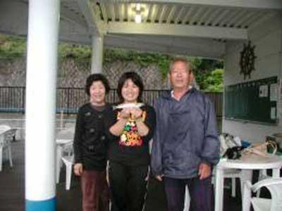 2009年5月12日(火)キスの24cmを釣られました