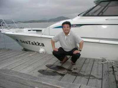 2009年6月6日(土)ヒラメの72cmを釣られました