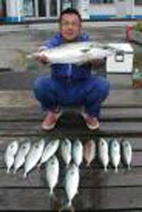 ハマチの70cmを釣られました