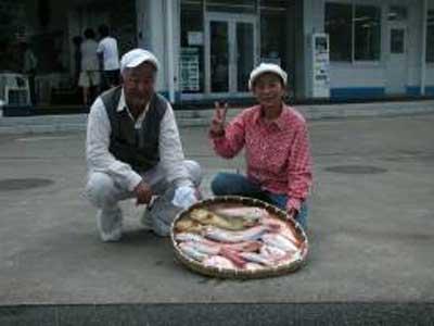 2009年7月4日(土)アマダイの43cmを釣られました