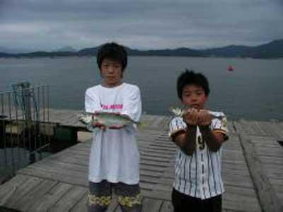 2009年8月5日(水)鯵の36cmを釣られました