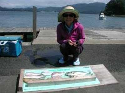 2009年8月8日(土)鯵・アオハタ・アマダイを釣られました