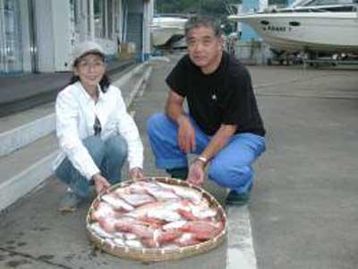 2009年9月18日(金)アマダイやレンコダイを釣られました