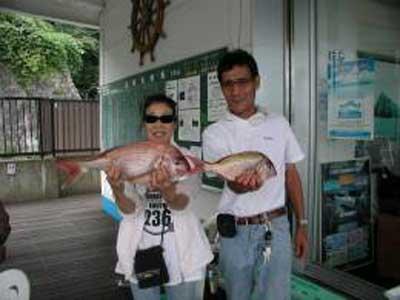 2009年9月22日(火)鯛の54cmを釣られました