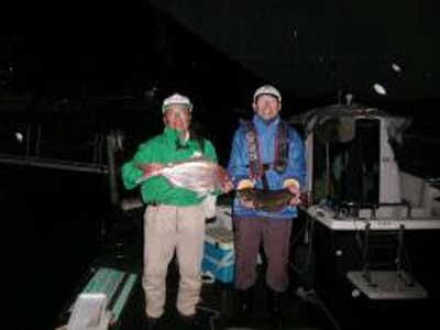 2009年11月22日(日)鯛とヒラメを釣られました