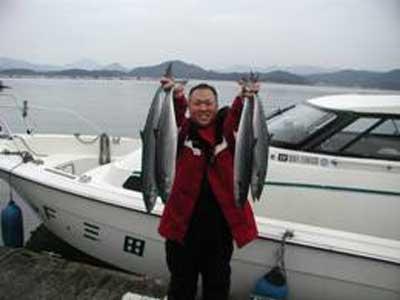 2010年2月9日(火)ハマチ・サワラを釣られました