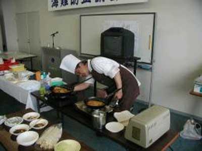2010年 実演料理