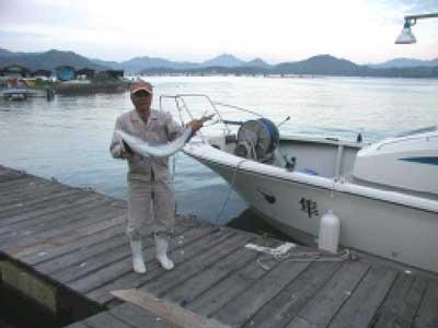 2010年5月9日(日)ブリの90cmを釣られました