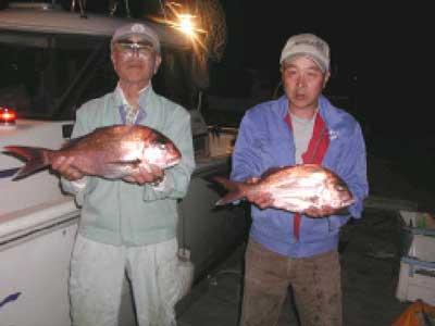 2010年5月9日(日)鯛の63cmを釣られました