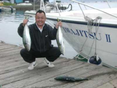 2010年5月22日(土)ハマチの65cmを釣られました