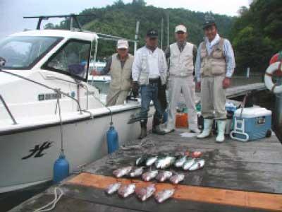 2010年6月5日(土)鯛やハマチを釣られました