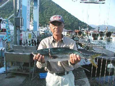 2010年6月11日(金)ハマチの63cmを釣られました