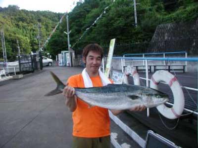 2010年6月16日(水)ブリの94cmを釣られました