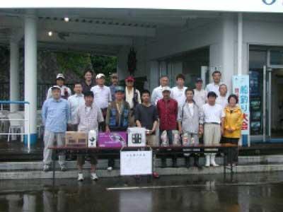 2010年6月27日(日)キス釣り大会