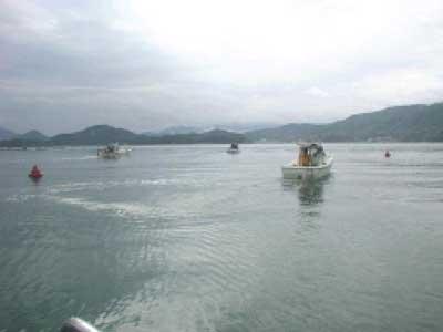 2010年6月27日(日)キス釣り大会の出船