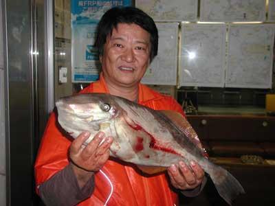 2010年10月23日(土曜日)若狭湾でウスバハギの50cmを釣られました