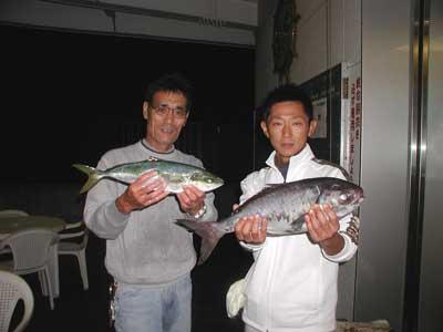 2010年11月14日(日)若狭湾でメダイやハマチを釣られました