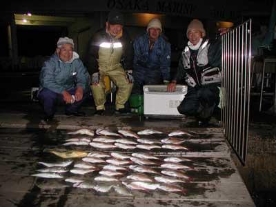 2010年12月19日(日)若狭湾で鯛を釣られました