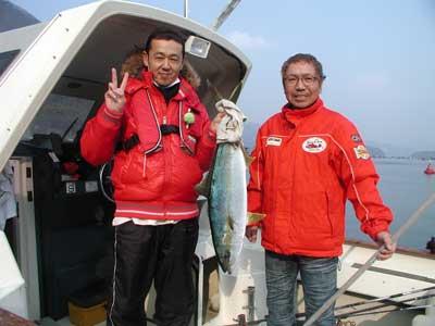 2011年2月5日(土)若狭湾でヒラマサの85cmを釣られました