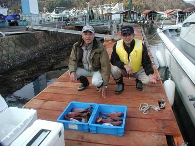 2011年3月31日(木)若狭湾で鯛の40cmを釣られました