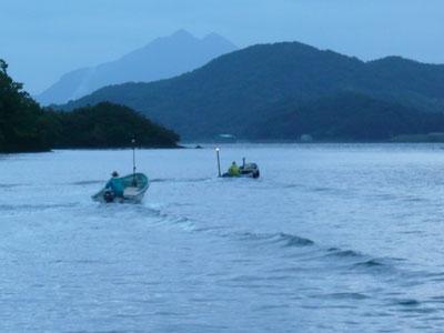 2008年10月11日(土)舞鶴は吉田の筏より同時にお迎えです
