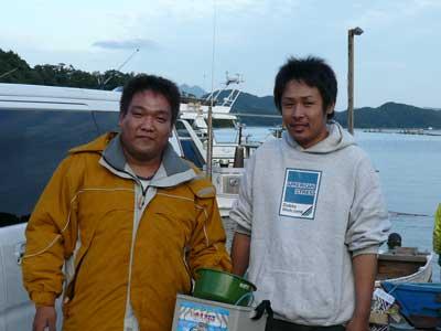 2008年10月12日(日)舞鶴は吉田へ釣りに来られたお客さん