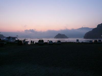 2008年10月19日(日)渡船待ちのお客さんが多く順番待ちでおられました