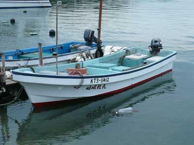 2008年10月26日(日)嵯峨根渡船さんの新しい和船です