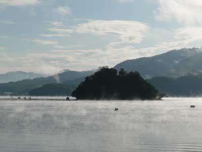 2008年12月31日(水)舞鶴は吉田の筏は年末の様子です