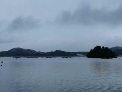 2009年1月1日(木)舞鶴は吉田の筏は年始の様子です
