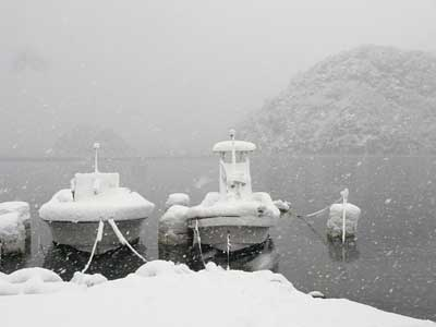 2010年12月31日(金)舞鶴は吉田の入り江で年末の様子です